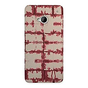 Delighted Brick Wall Vintage Back Case Cover for HTC One M7