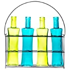 Decorative Glass Bottle Set