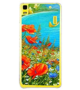 Colourful Painting 2D Hard Polycarbonate Designer Back Case Cover for Lenovo K3 Note :: Lenovo A7000 Turbo