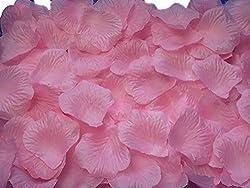 Futaba Silk Rose Artifical Petals - Light Pink 100 Pcs