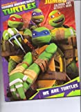 Teenage Mutant Ninja Turtles (TMNT) Jumbo Coloring & Activity Book ~ We Are Turtles