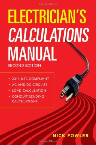Electrician's Calculations Manual 2nd Edition - McGraw-Hill Professional - 007177016X - ISBN:007177016X