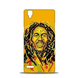 ezyPRNT Bob Marley The Legend Beautiful Premium PC Plastic Mobile Back Case Cover for Oppo F1
