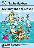 Textaufgaben 3. Klasse. Sachaufgaben