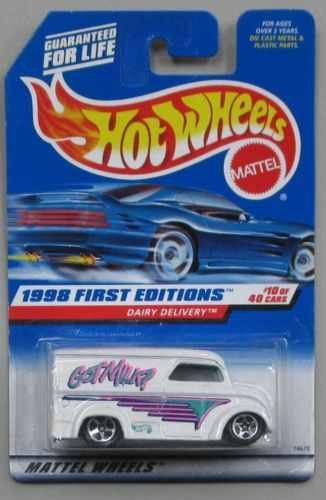 1998 Hotwheels First Editions Dairy Delivery #10/40