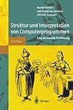 Struktur und Interpretation von Computerprogrammen. Springer Lehrbuch (3540423427) by Harold Abelson