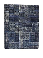 Eden Carpets Alfombra Pacthwork Azul 306 x 243 cm
