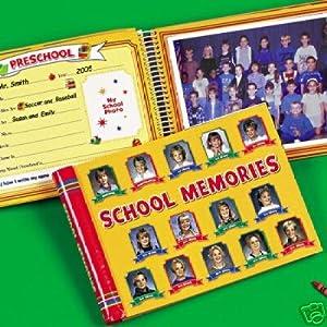 school memories keepsake scrapbook album k 12 book toys games. Black Bedroom Furniture Sets. Home Design Ideas