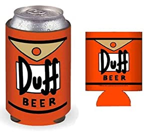 The Simpsons Duff Can & Bottle Cooler