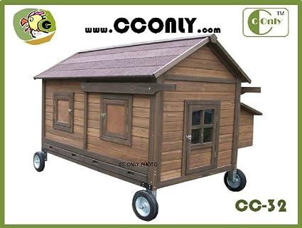 Chicken Coop Trailer Cc-32 Mobile Chicken Coop