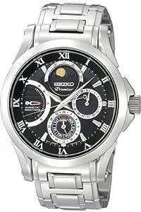 Seiko Men's SRX001 Black Dial Watch