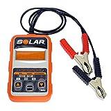 【国内正規品】SOLAR BA7 バッテリー&始動・充電システムテスター 12V用 [日本語説明書/1年保証付き]