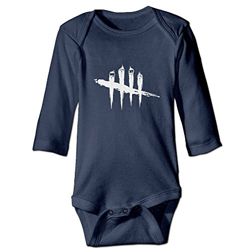 DETED Dead By Daylight Logo Fashion Boy & Girl Infants Climb Jumpsuit Size18 Months Navy (7 Days To Die Steam compare prices)
