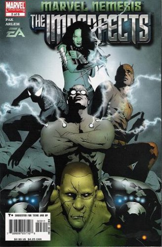Marvel Nemesis: The Imperfects #3 (Marvel Nemesis The Imperfects compare prices)