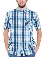 Big Star Camisa Hombre (Azul / Blanco)