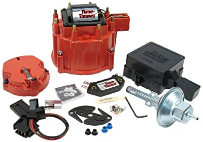 PerTronix D8001 Flame-Thrower Red Cap GM HEI Tune Up Kit for Chevrolet/Cadillac