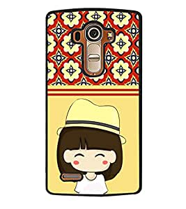 Printvisa 2D Printed Girly Designer back case cover for LG G4 - D4440