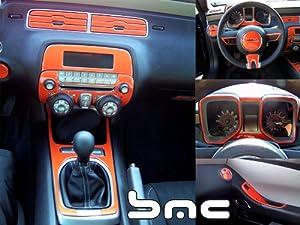 2010 2011 Chevrolet Camaro Manual Interior Dash Trim Kit W Floor Console W O Gauge
