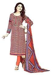 Sagi Women's Cotton Silk Unstitched Dress Material (SDDM-06_Multi_Free Size)