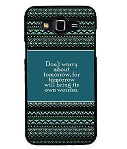 PRINTVISA Premium Metallic Insert Back Case Cover for Samsung Galaxy Grand 3 - D5836