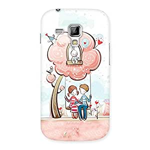 Cute Swing Love Back Case Cover for Galaxy S Duos