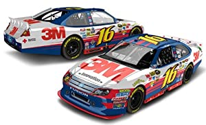 Nascar Greg Biffle #16 3m Nascar Unites Diecast Chrome Color Finish Collectible Lnc 1... by Action