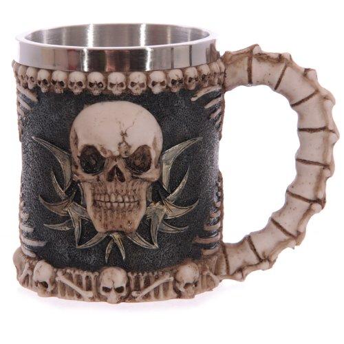 Solo Decorative - Skull & Spine Tankard