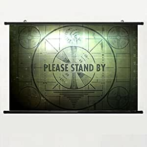 Home decor animation art cosplay poster with for Fallout 4 decorations