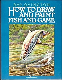 How to draw and paint fish and game ray for How to paint a fish