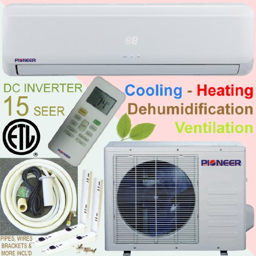 Pioneer Ductless Mini Split INVERTER Air Conditioner,