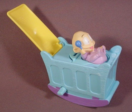 Rugrats the Movie Burger King Wind Up Cradle with Baby Dill - 1