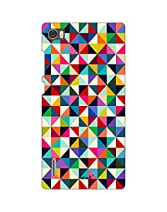 AANADI - Hard Back Case Cover for Huawei Honor 6 - Superior Matte Finish - HD Printed Cases and Covers