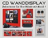 CD-Wanddisplay-CD-Wandhalter-CD-Halter-fr-9-CDs-Zur-bildhaften-Wandprsentation-Ihrer-Lieblings-CD-Sammlung