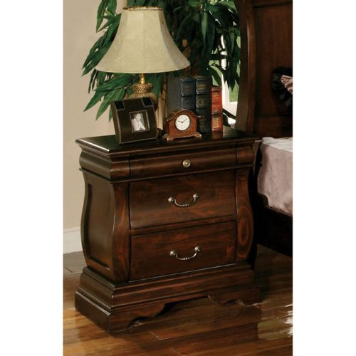 Hesperia Transitional Nightstand With Felt-Lined Drawer front-1005952