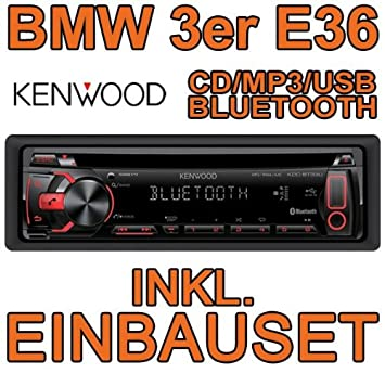 BMW série 3 e36 kenwood kDC-bT33U kit de montage