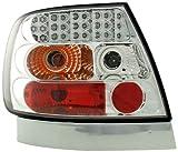 FK Automotive FKRLXLAI8015 LED R�ckleuchten fit for Audi A4 Limousine (Typ B5) Baujahr 95-00, chrom