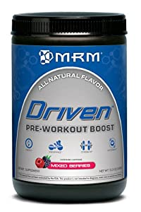 MRM Driven Natural Nutritional Supplement, Mixed Berries, 350 Grams