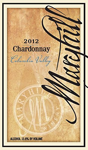 2012 Maryhill Winery Chardonnay 750 Ml