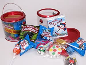 Children Holiday Gift Tin : Christmas Candy