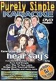 echange, troc Purely Simple Karaoke - Hits of Hear'say