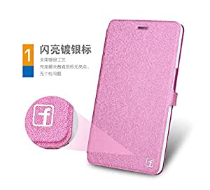 Honor X1 Case, Silk Pu Flip Leather Folio Case for HUAWEI MediaPad