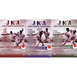JKA Box set of 3 DVD's VPM