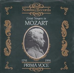Prima Voce: Great Singers In Mozart