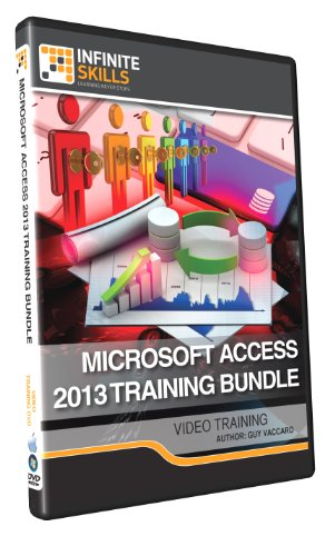 Microsoft Access 2013 Training Bundle - Training DVD