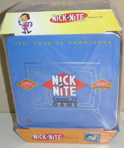 Nick at Nite Classic TV Game In Collectors Tin - 1