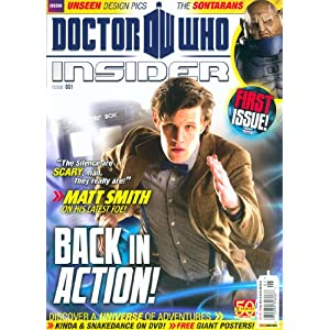 Doctor Who Insider Magazine Issue 1 - Various