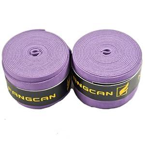 Buy NAVA New 2 x Purple Anti Slip Badminton Tennis Sports Racket Over Grips Squash Tape by NAVA