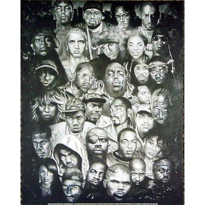 Eminem Collage Poster