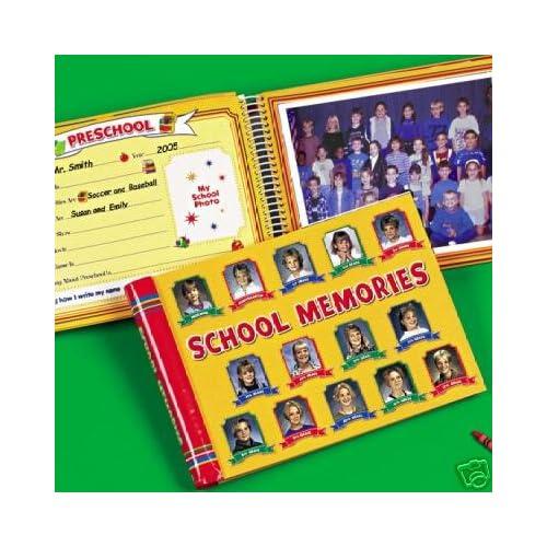 Amazon.com: School Memories Album Yellow 10 Pocketfuls Book Preschool