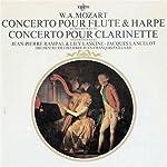 モーツァルト:フルートとハープのための協奏曲、クラリネット協奏曲(再プレス)